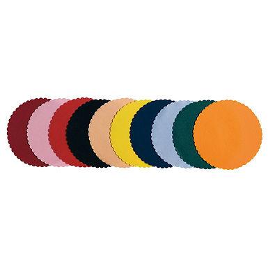 Coaster Leone, Paper, Black, 250 pcs, Ø11.5cm