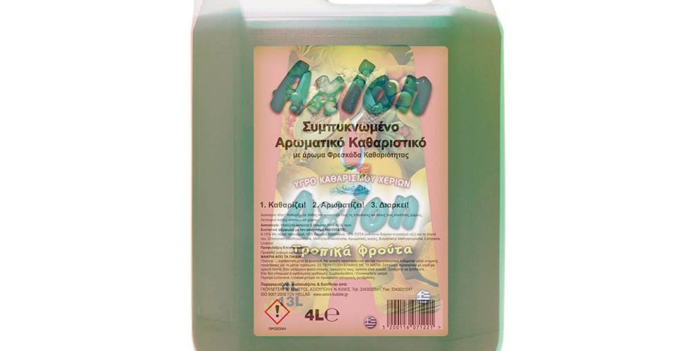 Concentrated Aromatic Cleanser Axion, Freshness Perfume, 4L