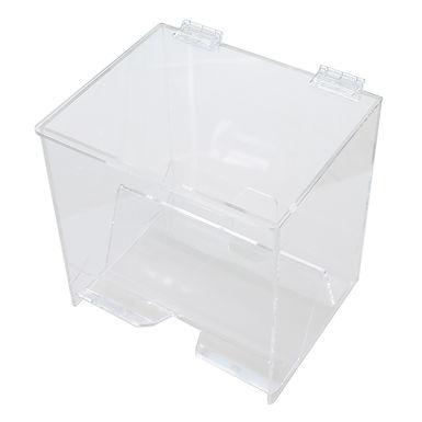 Straw Dispenser, 2 Sided, Plexiglass, 25x22x25cm