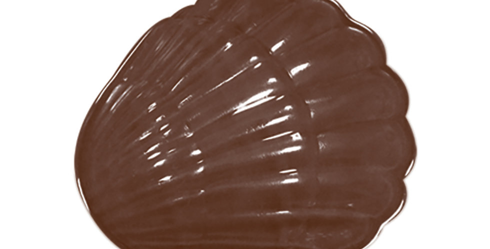 3D Clamshells Mold Martellato, Thermoformed Plastic, 4+4 pcs, Ø35x10mm