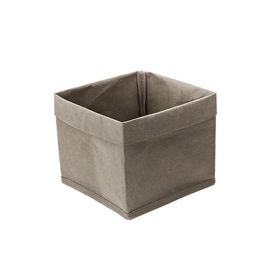 Bread Basket Leone, Paper, Green, 1 pc, 15x15x16cm