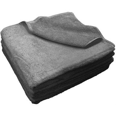 Beach Towel Fragente, Anthracite, 16/1, 450gr/m², 75x150cm