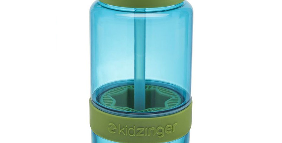 Bottle with Squeezer Zing Anything Citrus Zinger Mini, BPA Free Plastic, 475ml
