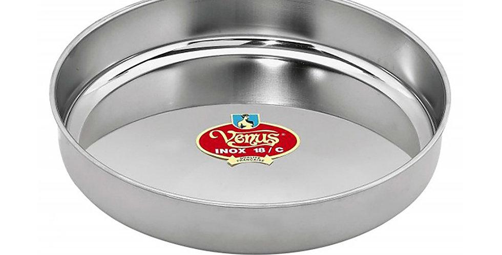 Baking Pan Venus, Round, Stainless Steel, Ø34cm
