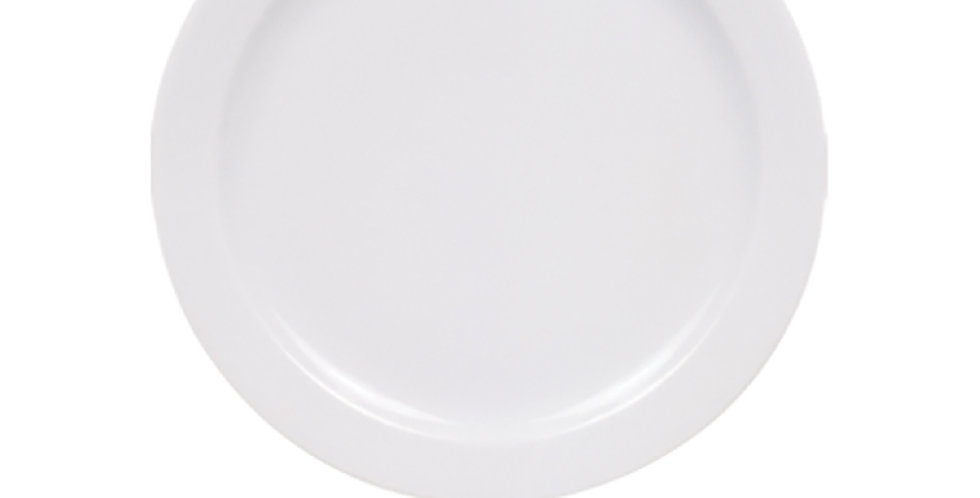 Flat Plate Gural Porselen Venus, Porcelain, White, 7 Sizes