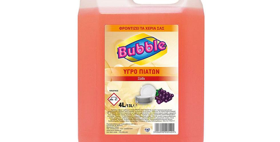Liquid Dishwashing Detergent Bubble, Vinegar Perfume, 4L