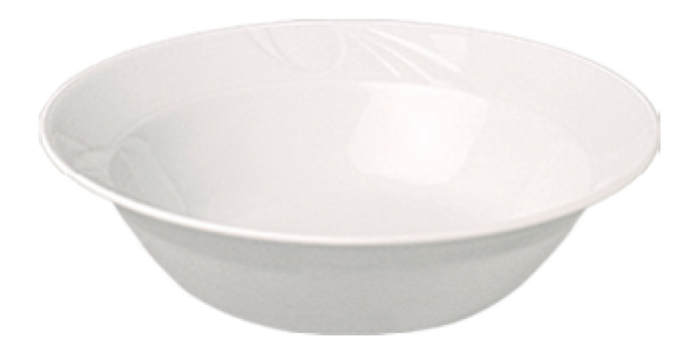 Bowl Gural Porselen Karizma, Porcelain, White, 3 Sizes
