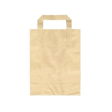 Disposable Bag, Kraft Paper, 5 Sizes