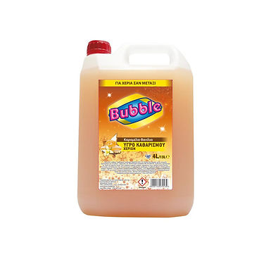 Liquid Soap Bubble, Caramel-Vanilla Perfume, 4L