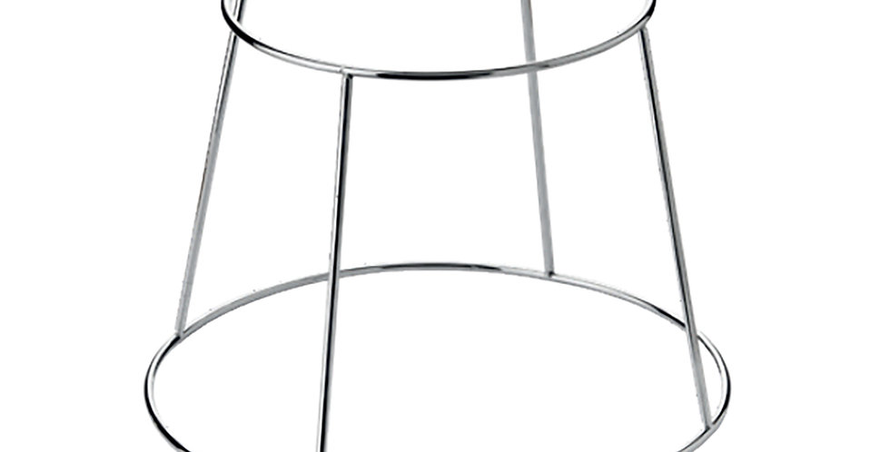 Buffet Stand Leone, Chromed S. Steel, 1 pc, 28x20x20.5cm