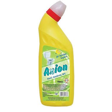 Toilet Bowl Cleaner Axion, Lemon Perfume, 750ml