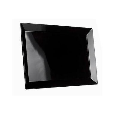 Rectangular Tray Leone Rubino, Melamine, Black, 1 pc, 48x30x2.5cm