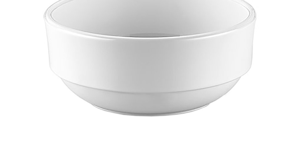 Stackable Bowl GastroPlast, Polycarbonate, White, 12cm