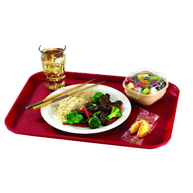 Fast Food Tray, PP, 3 Colors, 2 Sizes