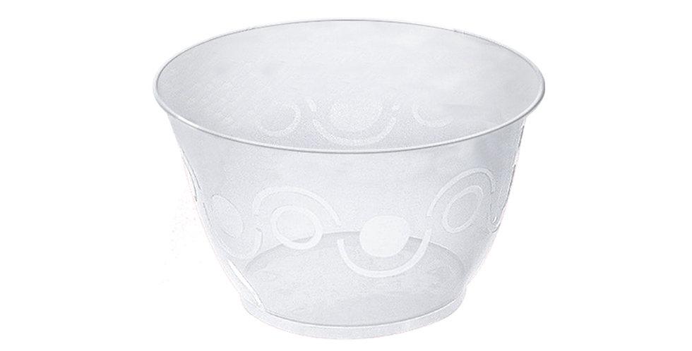 Plastic Bowl for Ice Cream, Transparent, 400ml