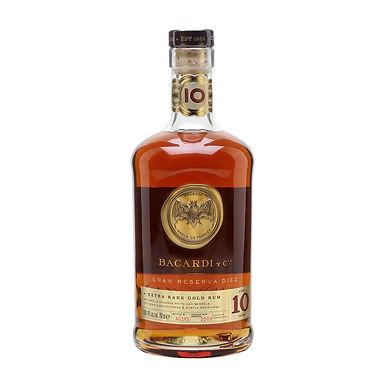 Bacardi Gran Reserva Diez Aged 10 Years Rum, 700ml