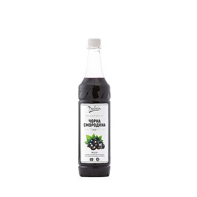 Black Currant Syrup Delicia, 1.3kg PET Bottle