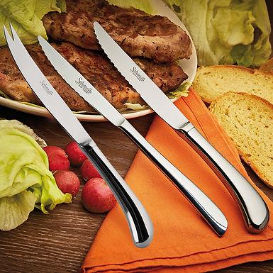 Cheese Knife Hallow Handle Salvinelli Universal, Inox 18-10, 2.5mm, 236mm