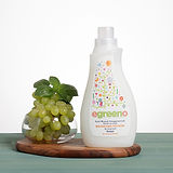 Laundry Softener egreeno Unscented, 99% Natural, Biodegradable, 970ml, 26 Washes