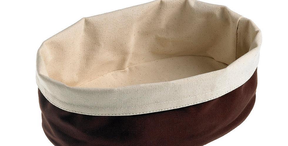 Bread Basket Leone, Cotton, Brown, 1 pc, 15x20x7cm