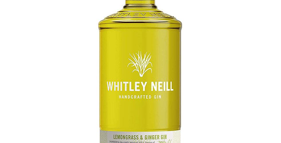 Whitley Neill Lemongrass & Ginger Gin, 700ml