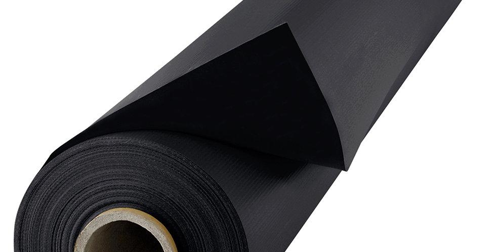 Blackout Curtain Roll, Black, 3x20m