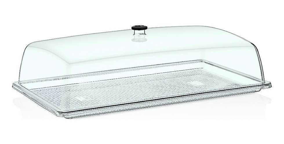 Buffet Tray, Rectangle, Polycarbonate, 32.5x53cm