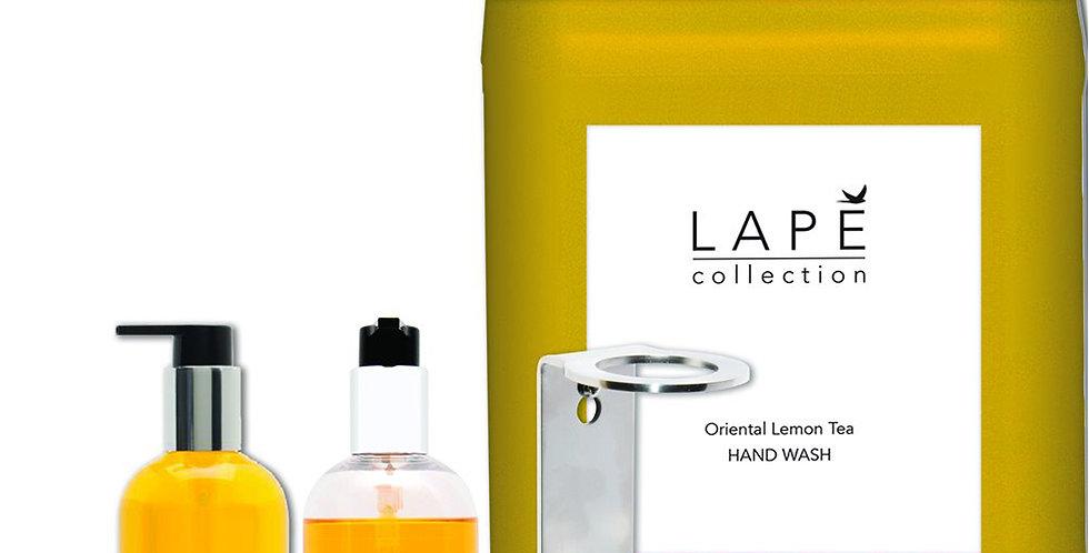 Oriental Lemon Tea Liquid Soap Lape Collection, 2x300ml, 1x5L, Single Base