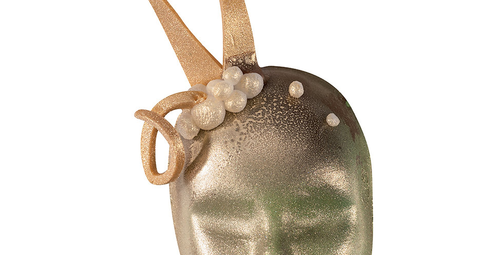 Carnival Mask Chocolate Mold Martellato, Thermoformed Plastic, 9 pcs, 30x45x15mm
