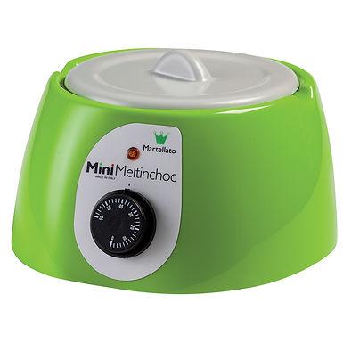 Dry Heat Chocolate Melter Martellato Mini Meltinchoc, Green, 26x26x16cm, 1.8L