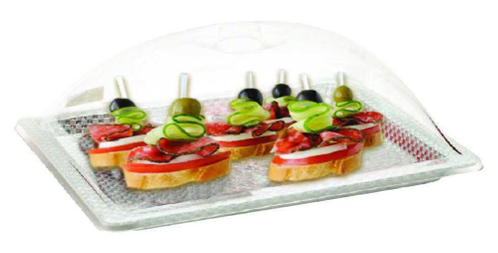 Buffet Tray, Rectangle, Plexiglass, 45x35cm