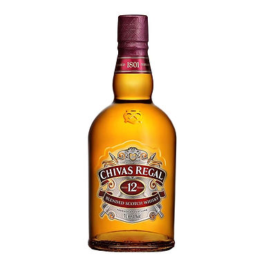 Chivas Regal Aged 12 Years Scotch Whisky, 1L