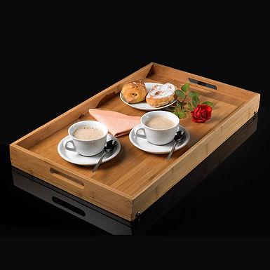 Breakfast Tray Leone, Bamboo, 58x35x5cm