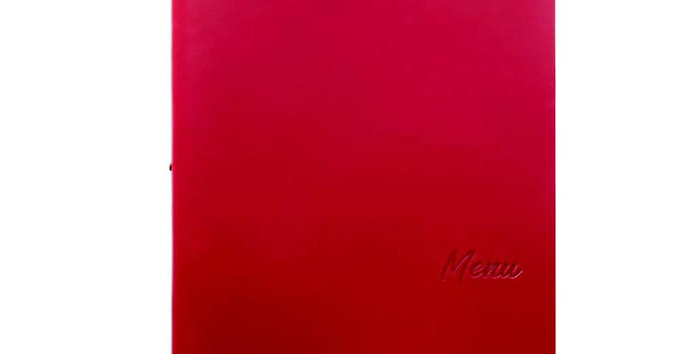 Menu Holder A4 Leone Lisbona, PP, Bordeaux, 1 pc, 25x32cm