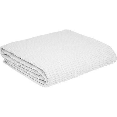 Pique Blanket Fragente, White, 100% Cotton, 160x240cm