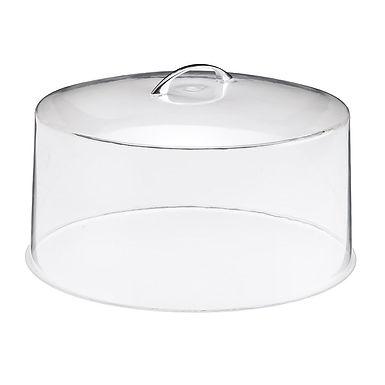 Cake Tray Cover Leone, Methacrylate, 1 pc, Ø30.5x14cm