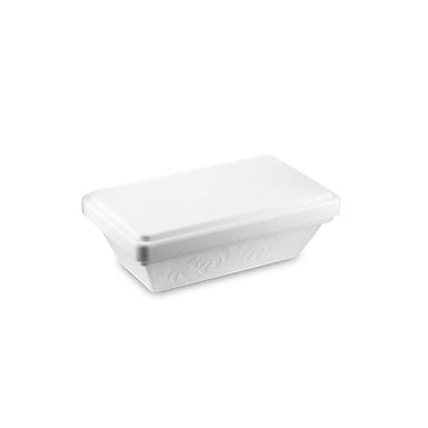 Ice Cream Takeaway/Delivery Box, Styrofoam with PS Inner, 20.6x13.3x8.8cm, 750ml