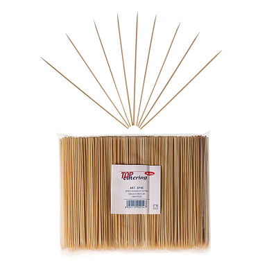 Sticks Leone, Bamboo, 1000 pcs, Ø3mm, 20cm