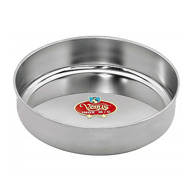 Baking Pan Venus, Deep, Round, Stainless Steel, Ø36cm
