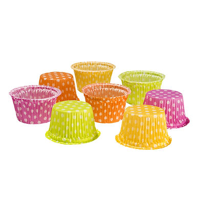 Disposable Muffin Mold, Various Colors, Ø63x36mm