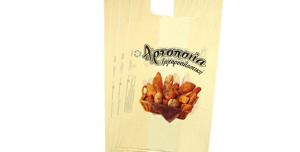 Disposable Bag, Bakery Design, 3 Sizes, 10kg
