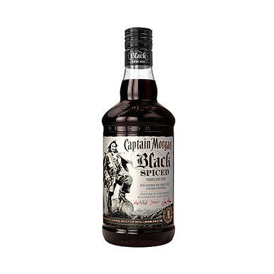 Captain Morgan Black Spiced Rum, 700ml