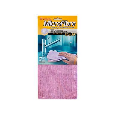 Microfiber Cloth, Absorbent, Purple, 30x30cm