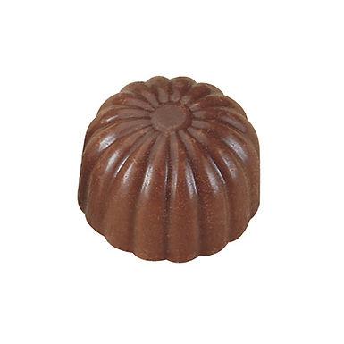 Chocolate Mold MA1530 Martellato Classic, Polycarbonate, 40 pcs, Ø26x19mm, 9g