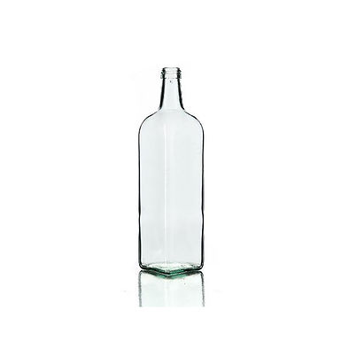 Bottle Marasca, Glass, Half White, 1000ml, 31.5x18