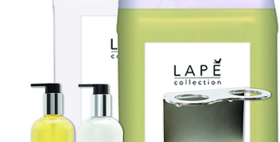 Honey Vanilla, Liquid Soap 300ml+5L, Hand Lotion 300ml+5L, Double Base