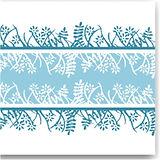 Napkin Fato Airlaid, Fabric Texture, Aqua Garden Design, 50pcs., 40x40cm