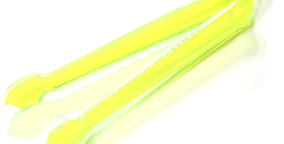 Ice Tong, Plexiglass, Various Neon Colors, 17cm