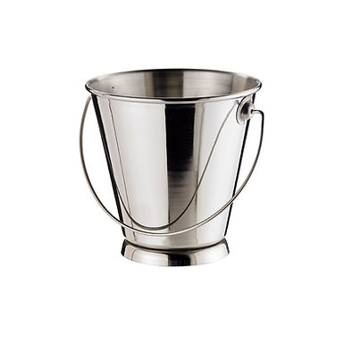 Bucket Leone, Stainless Steel, 1 pc, 12x12cm