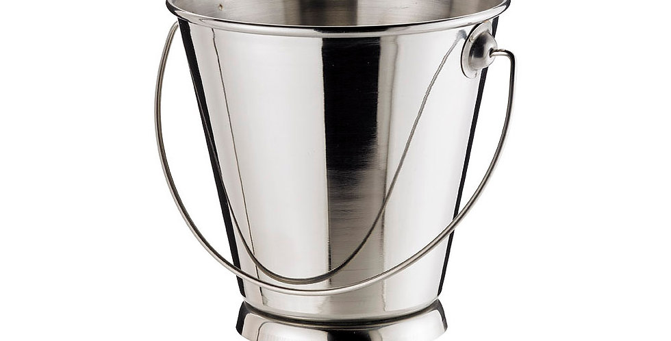 Bucket Leone, Stainless Steel, 1 pc, 12x12cm